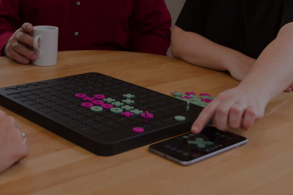 Combine with your Smartphone or tablet to enhance gameplay experience.